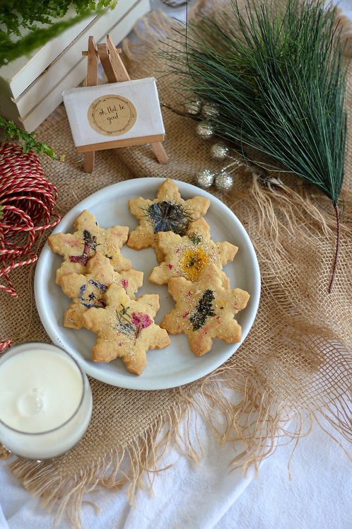 Gift Me - Spiced Shortbread Stars