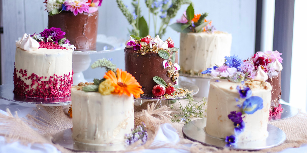 JULY | Session 2 | In Good Company | Petite Cake Decorating Workshop & Tea