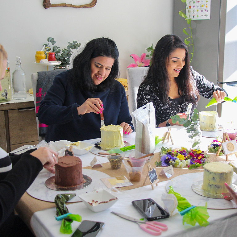 March   New Zealand  In Good Company   Petite Cake Decorating Workshop & Tea