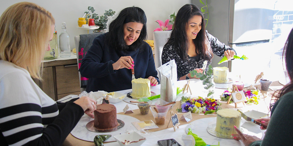March | New Zealand| In Good Company | Petite Cake Decorating Workshop & Tea