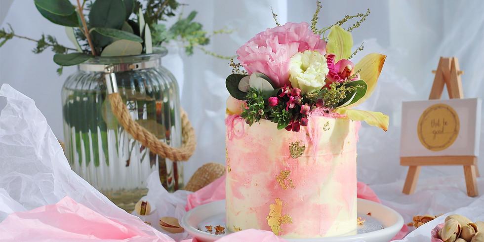 Harsheel's Bridal Shower | Petite Cake Decorating Workshop