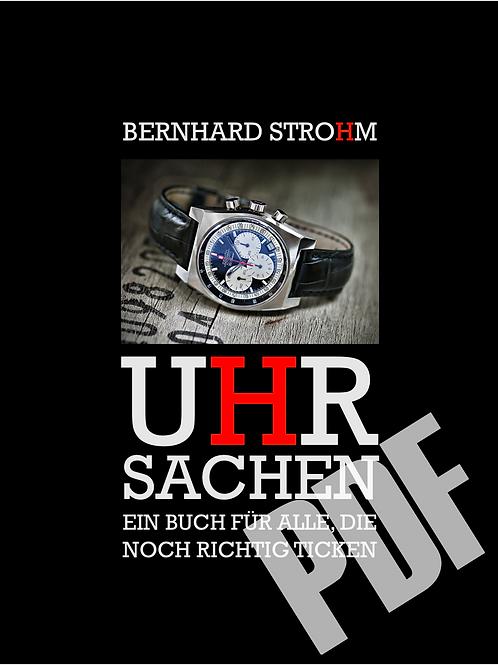"""""""UHRSACHEN"""" Das Buch als PDF"""