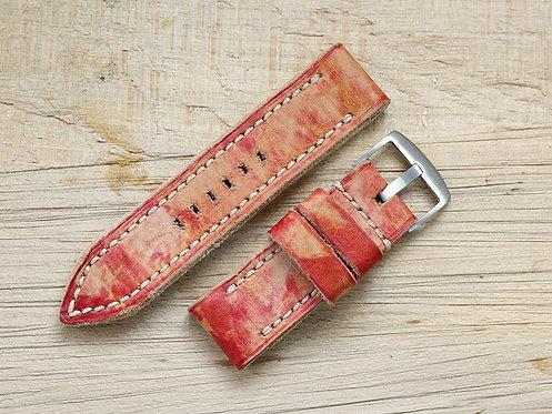 Lederband rot 26mm