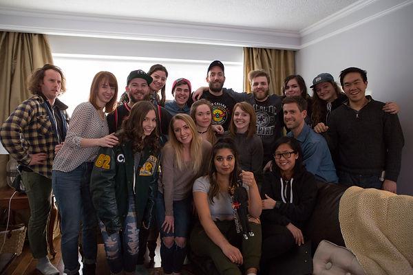 The Talk group photo