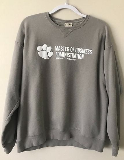 MBA Grey Sweatshirt