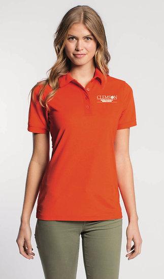 Women's MBA Polo - Orange
