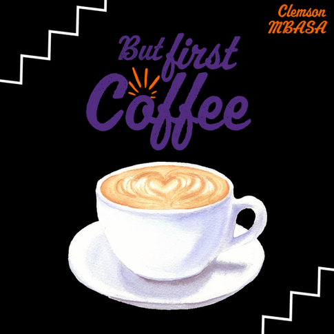 Light Background with Illustrated Coffee