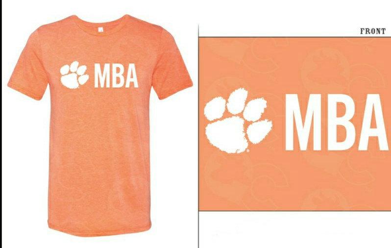 MBA Orange Shirt