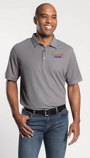 Men's MBA Polo - Grey