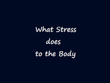 Did You Know STRESS Can Impact Your Health?