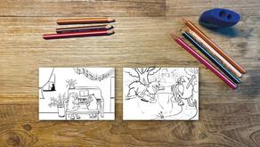 Kleurkaartjes voor lagere scholen en woonzorgcentra