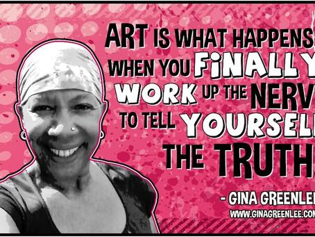 Art is what happens…