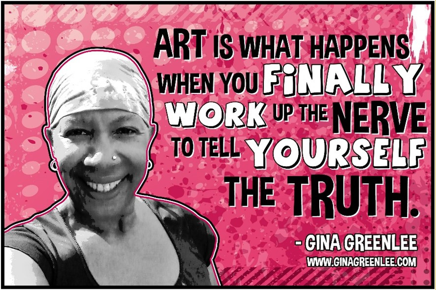 Gina Greenlee Quote