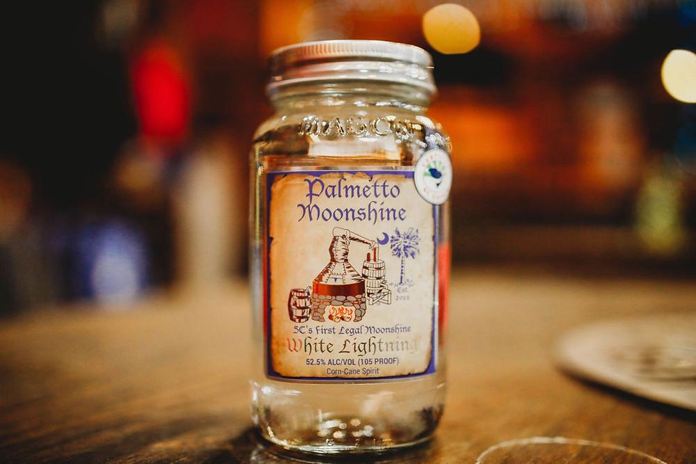 Palmetto Distillery Moonshine