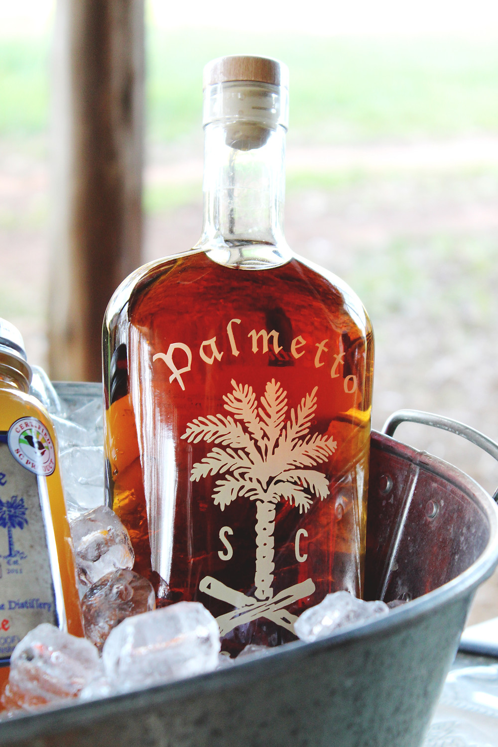 Palmetto Whiskey Bottle