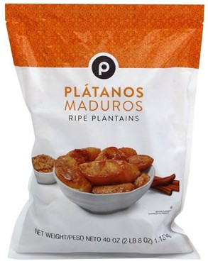 Plantains in a package