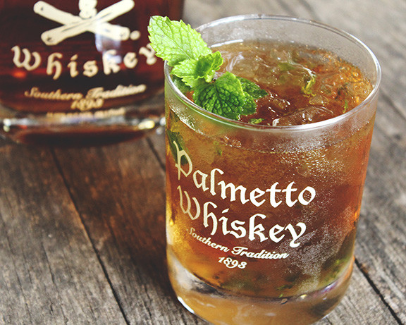 Palmetto Distillery Whiskey in Glass
