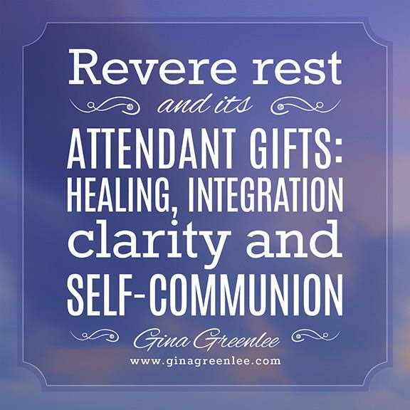 Revere Rest Quote