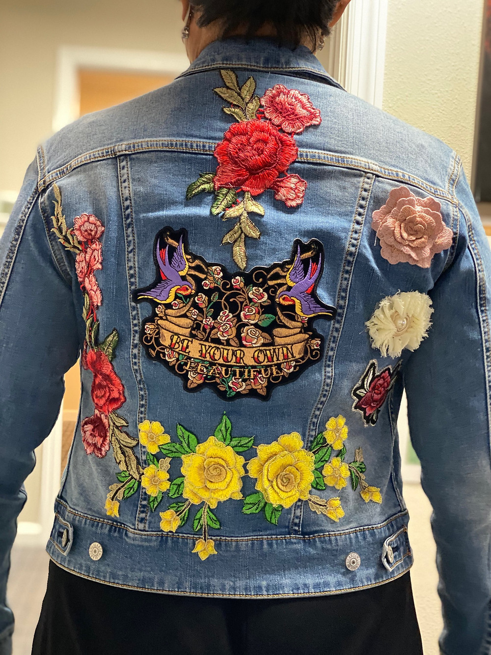 Embroidary Design on a Jacket