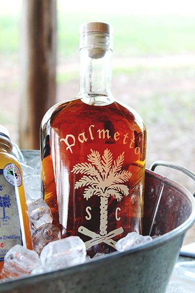 Palmetto Whiskey Bottle