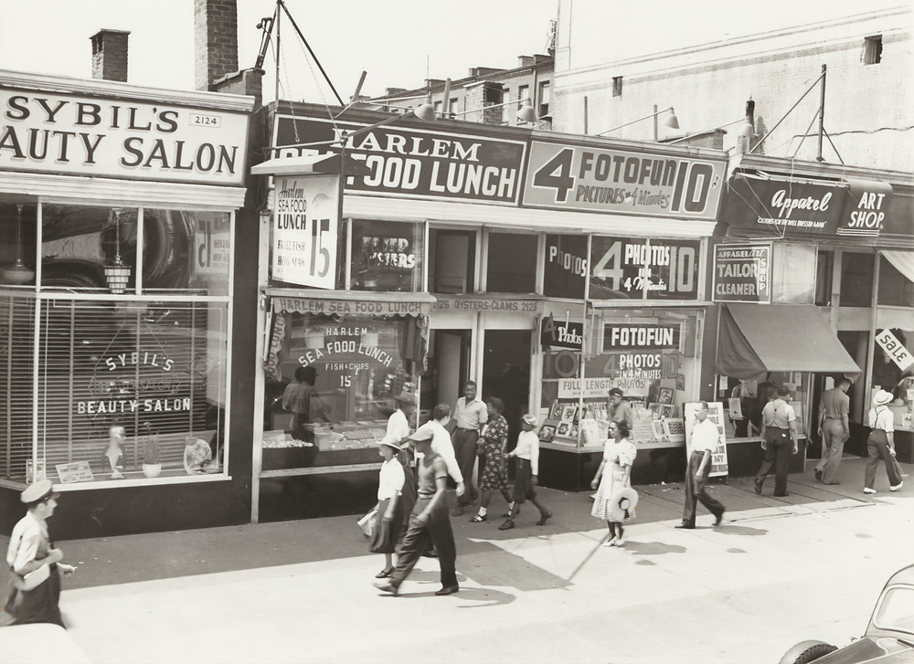 Old Photo of Harlem