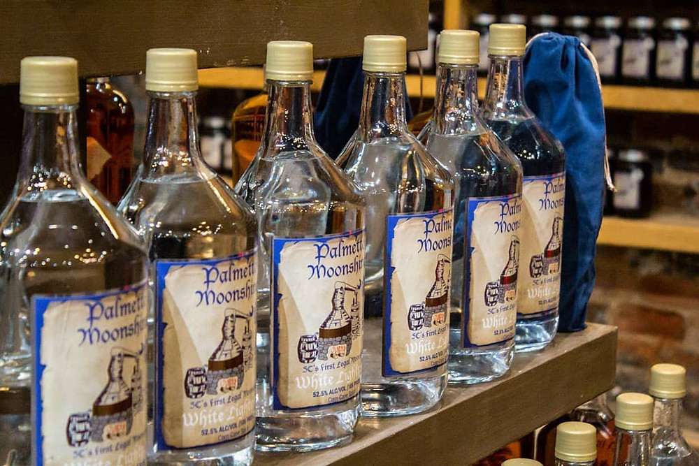 Palmetto Distillery Moonshine
