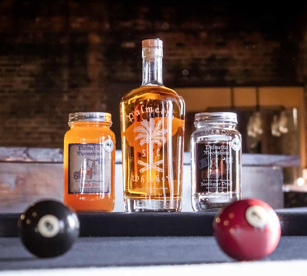 Palmetto Distillery Moonshine and Whiskey