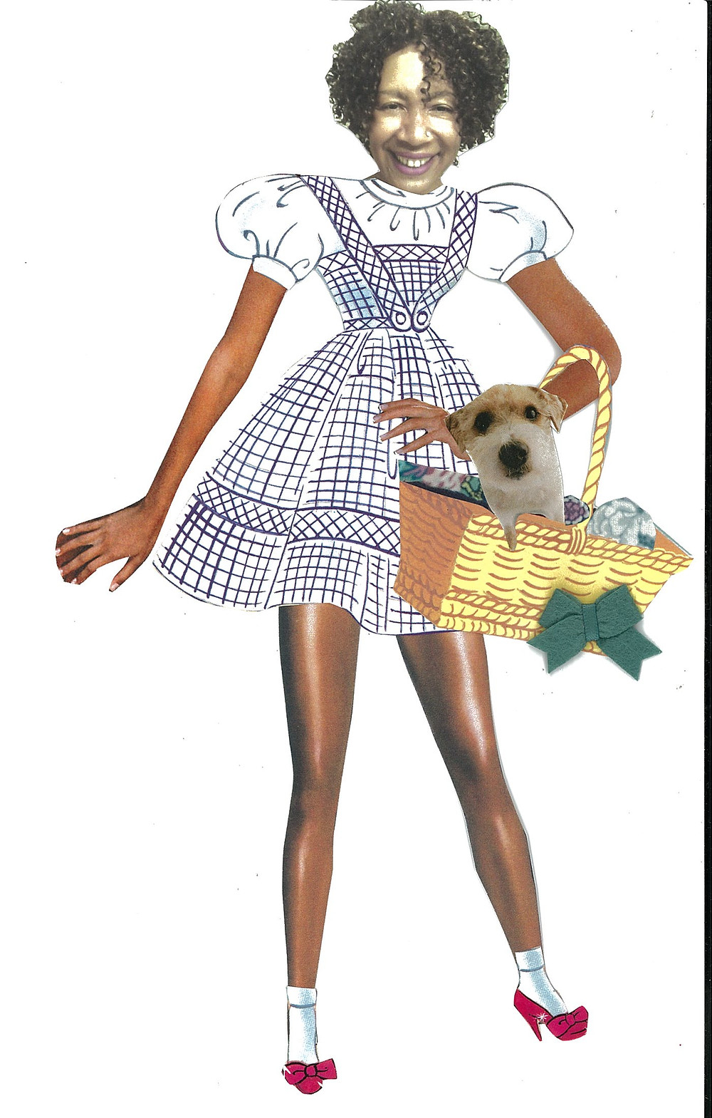 Gina Greenlee as Dorothy from the Wizard of Oz