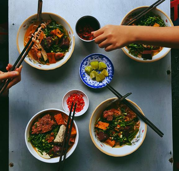 Many Hands with Chopsticks