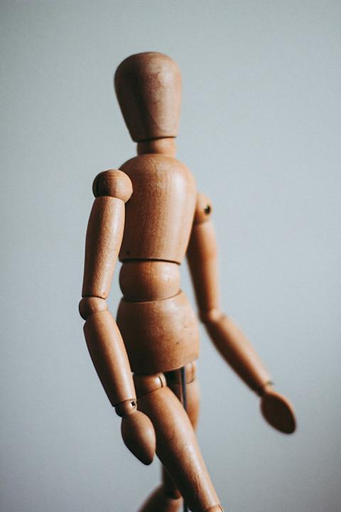 Wooden Body Figure
