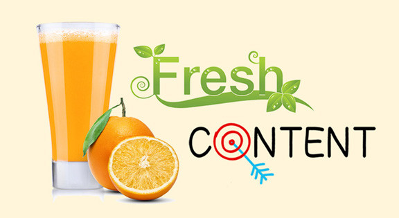 Fresh Content Graphic