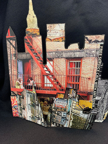Gina Greenlee's New York Collage