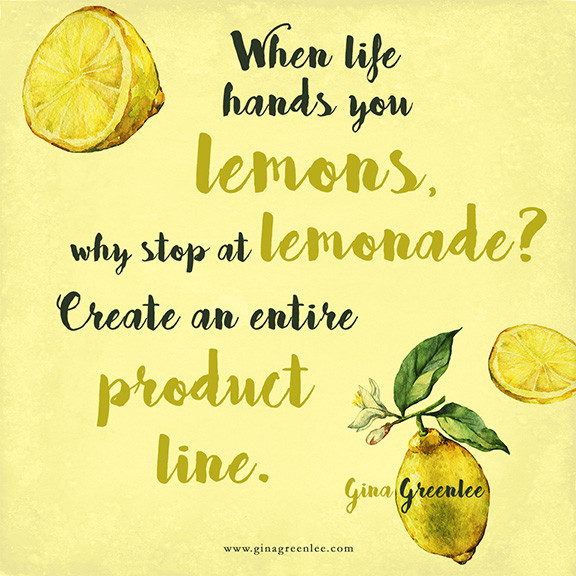 Quote About Lemons