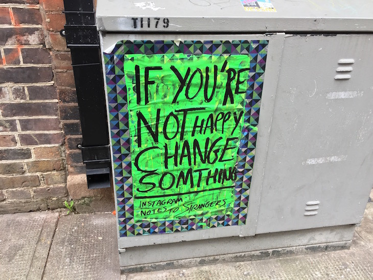 Quote on Metal Box