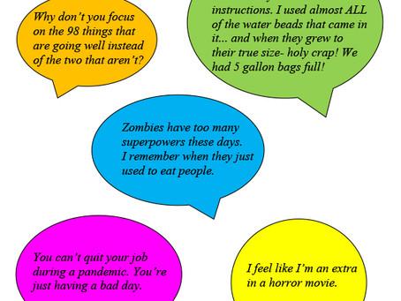 Spoken Word: Overheard