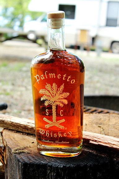 Palmetto Distillery Whisky Bottle