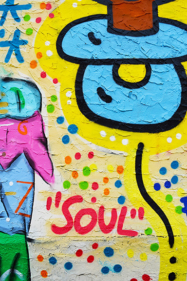 Artwork with the word Soul