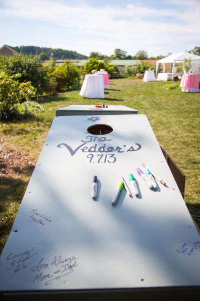Non Traditional Guestbook Ideas