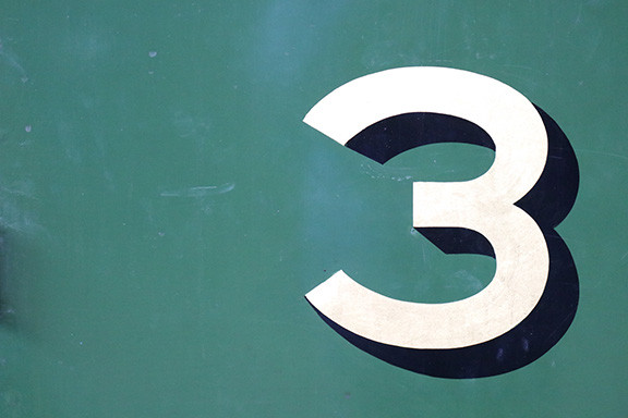 The Numeral Three