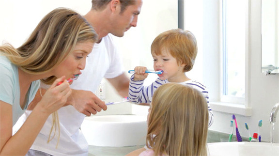 Good Oral Health as a Family