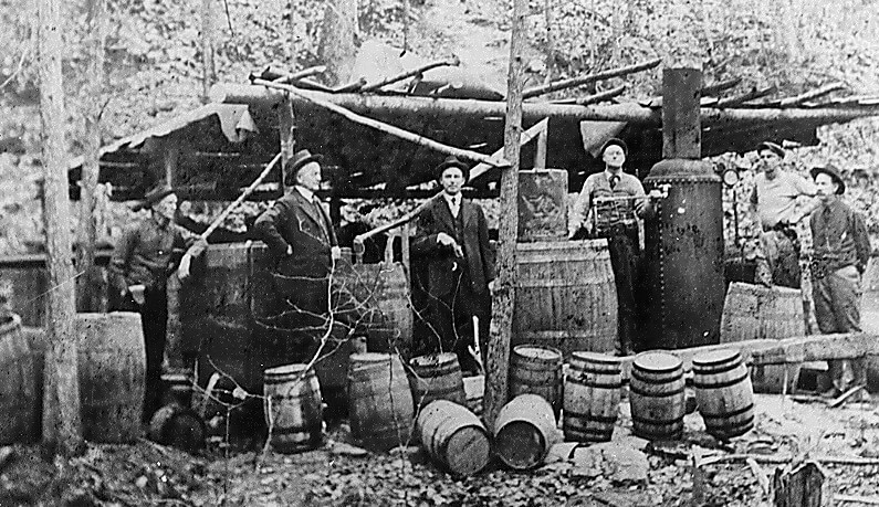 The History of Moonshine