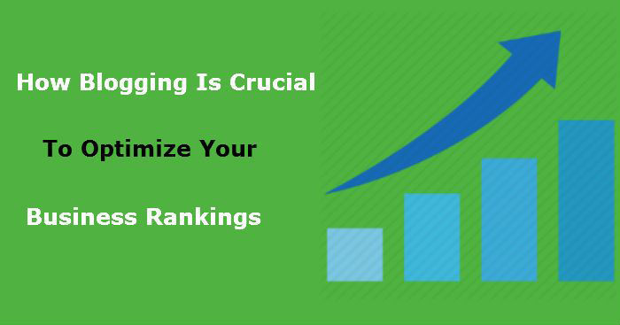 A graph showing Blogging is Crucial
