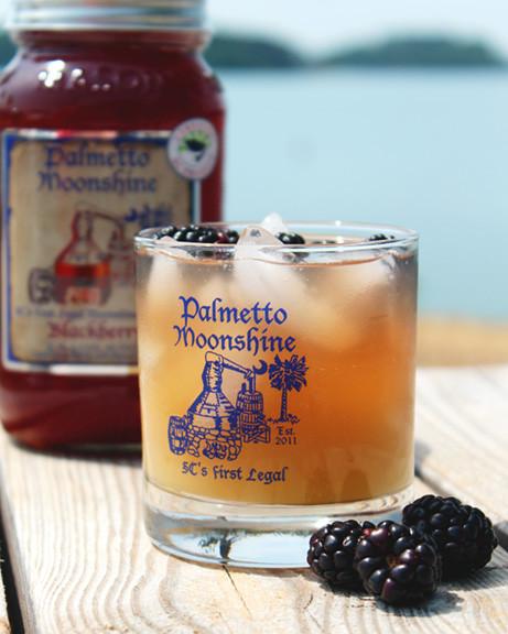 Palmetto Distillery Moonshine Drink
