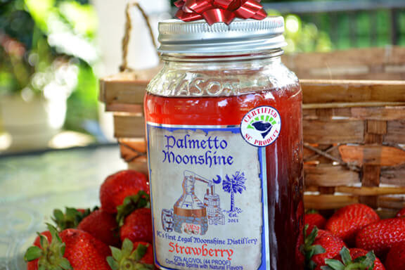 Palmetto Moonshine Strawberry