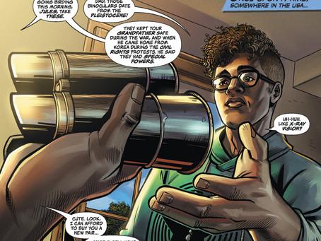 DC Comics Offers Central Park Birder Chris Cooper's Graphic Novel for Free
