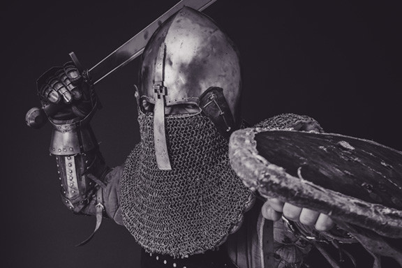 Man in Armour Suit