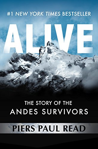 Alive The story of the Andes Survivors Book Cover