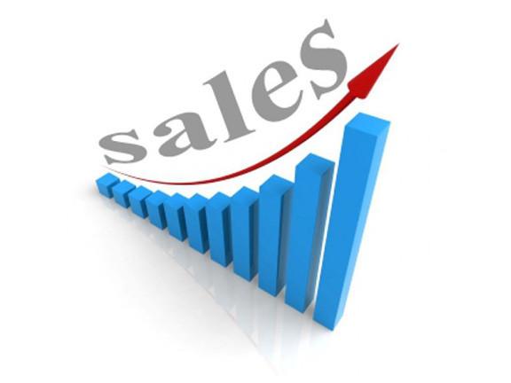 Sales Increase Graphic