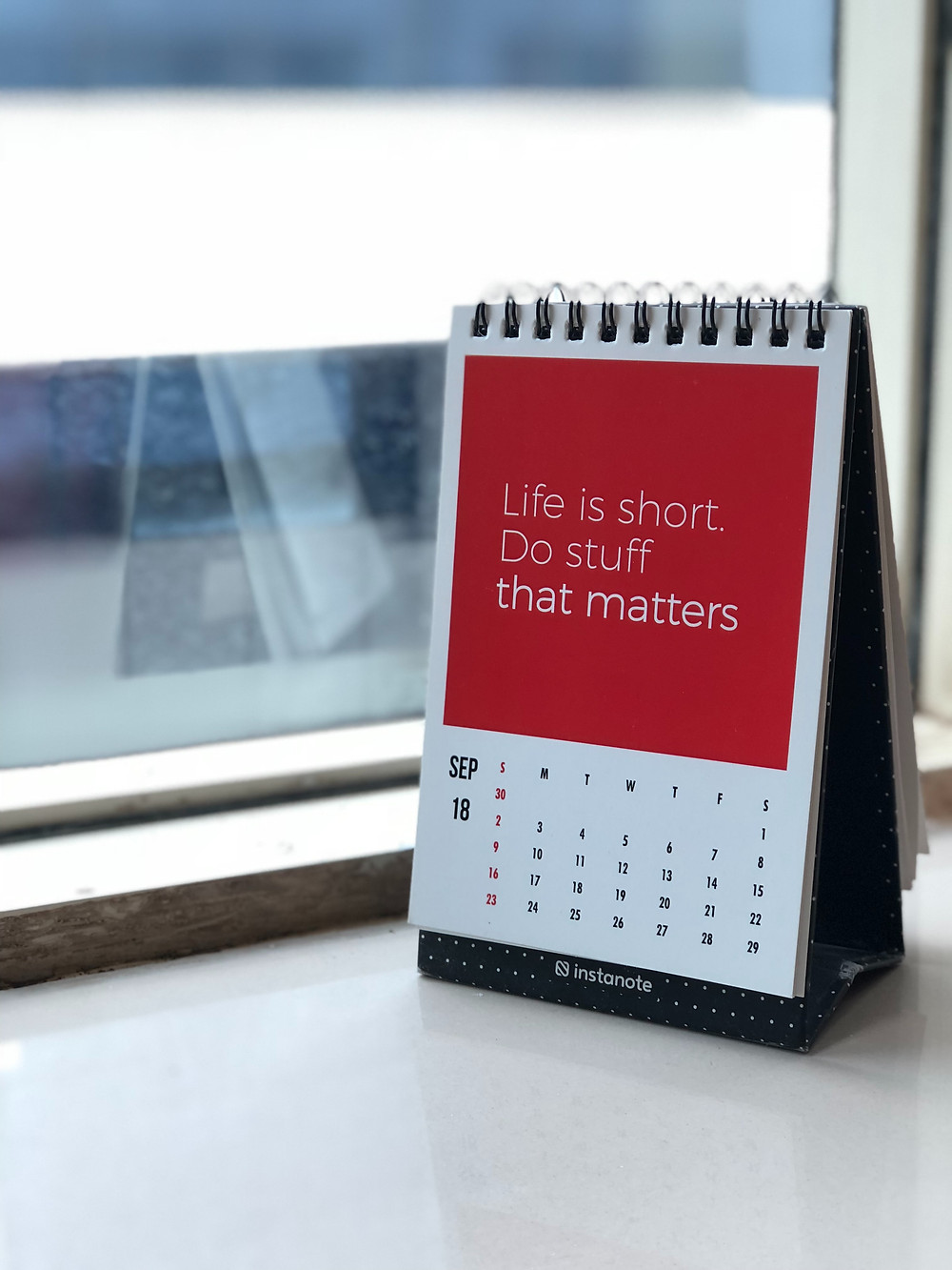 Life is short do stuff quote