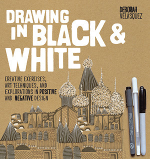 Drawing In Black & White Book Cover